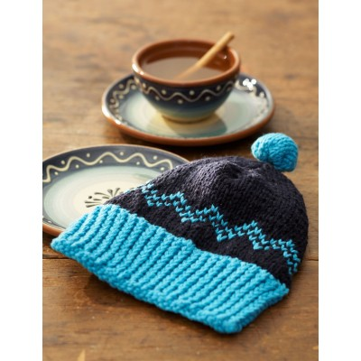 Hat Dishcloth Free Knitting Pattern