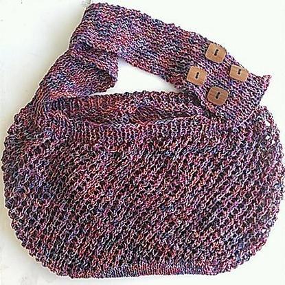 Janice Market Bag Pattern Free Knitting