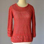 Kaye Pullover Free Knitting Pattern