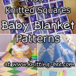 Knitted Squares Baby Blanket Patterns
