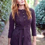 Livia Cabled Cardigan Knitting Pattern Free