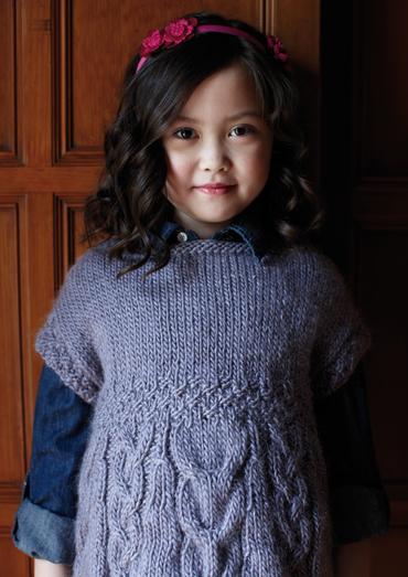 Mabel Tunic Sweater For Girls Free Knitting Pattern Knitting Bee