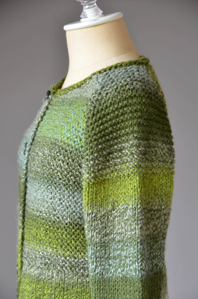 Mossbank Cardigan Free Knitting Pattern for Women