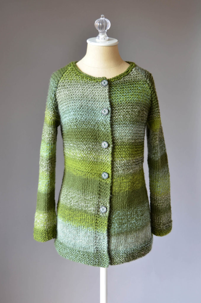 Mossbank Cardigan Free Knitting Pattern For Women