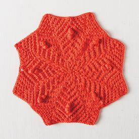 Neoscona Facecloth Free Knitting Pattern