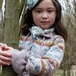 Olivia Cardigan for Girls Free Knitting Pattern
