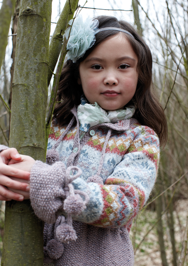 Free free fair isle children's cardigan knitting patterns Patterns ...