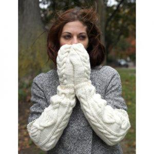 Patons Armwarmers & Mittens Free Knitting Pattern