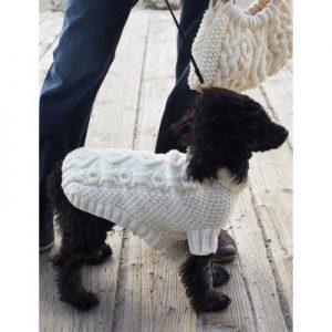 Patons Biscuits & Bones Dog Coat Free Knitting Pattern