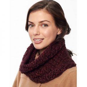Patons Box Stitch Cowl Free Knitting Pattern