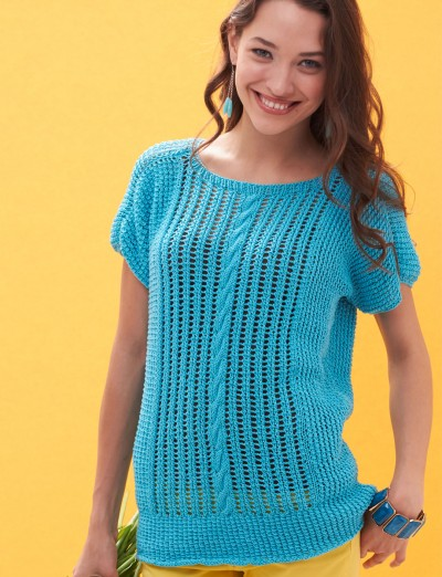 Free Knitting Patterns For Ladies Lace Tops : Free free ladies lace top knitting pattern Patterns ? Knitting Bee (27 free k...