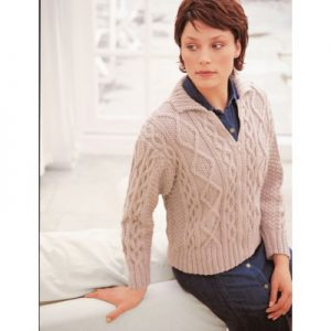 Aran cardigan knitting pattern free