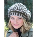 Patons Celtic Fair Isle Beret Free Knitting Pattern