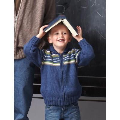 Patons Child Raglan Sleeve Jacket Free Knitting Pattern