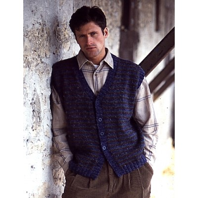dc936e2cb87d Patons Country Gentleman Vest Free Knitting Pattern