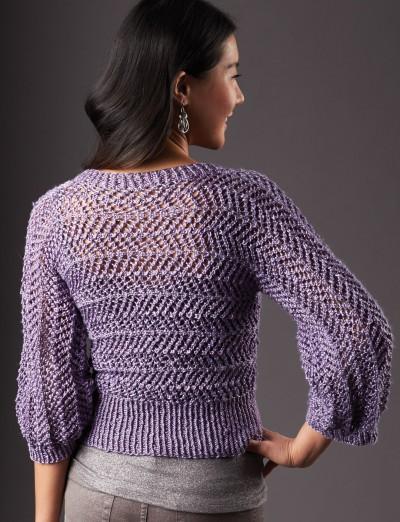 Patons Dazzling Dolman Free Knitting Pattern