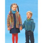Patons Garter Stitch Jackets Free Knitting Pattern for Children