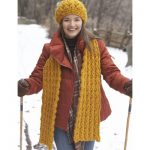 Patons Giant Stitch Hat and Scarf Free Knitting Pattern