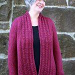 Peverly Free Cardigan Knitting Pattern