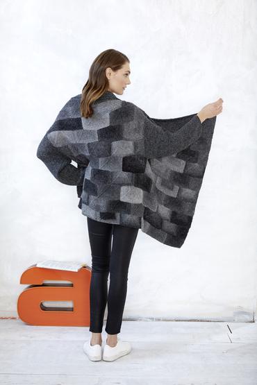 Pieceful Cardigan Free Knitting Pattern