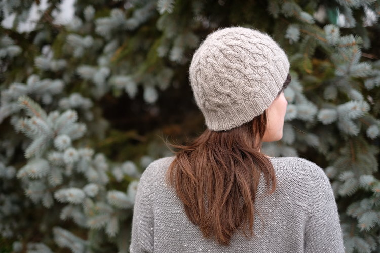 Seathwaite Cable Hat Free Knitting Pattern
