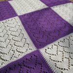 Sweethearts Baby Blanket Free Knitting Pattern