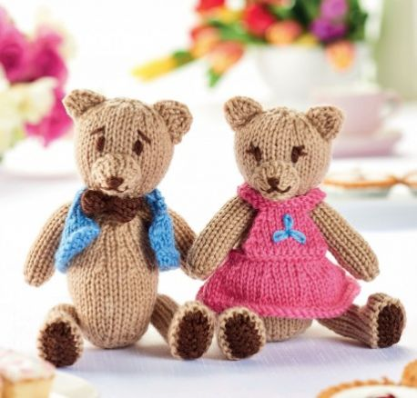Teddy Bear's Picnic Free Toy Knitting Pattern