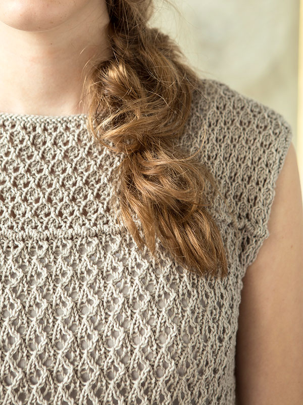 Tove Tee Top Free Knitting Pattern 1 ⋆ Knitting Bee