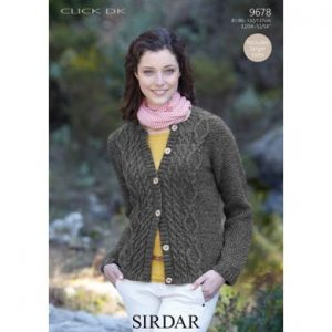 cabled cardigan knitting pattern
