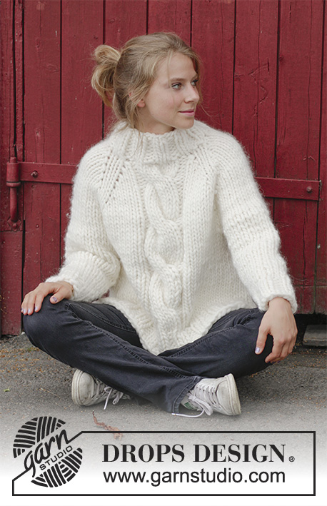 Easy Knitting Patterns For Kids : Mont Blanc Cable Sweater Free Knitting Pattern ? Knitting Bee