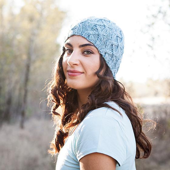 Evergreen Cap Free Knitting Pattern