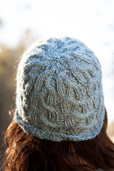 Evergreen Cap Free Knitting Pattern