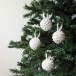 Bulky Baubles Free Christmas Knitting Pattern