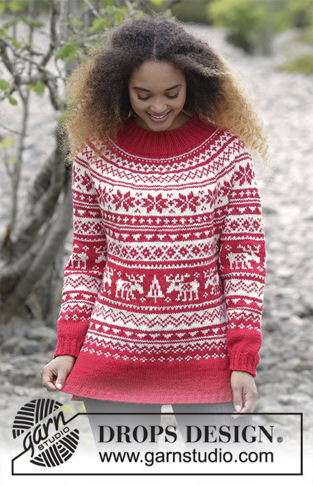 Season Greetings Free Christmas Sweater Knitting Pattern Knitting Bee