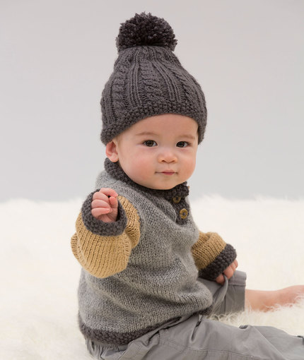 Free Free Cabled Baby Hat Knitting Patterns Patterns Knitting Bee