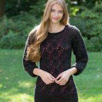 Date-Night Knit Tunic Free Knitting Pattern