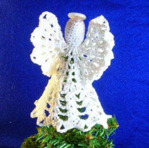 Free Christmas Tree Topper Crochet Patterns