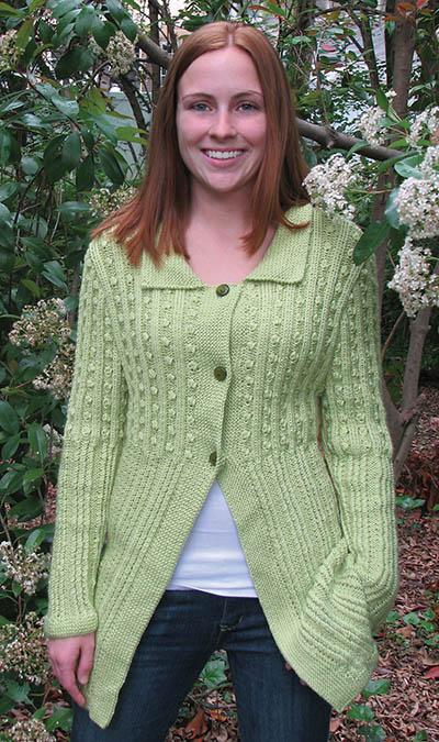 Free free knitting patterns for long women's cardigans ...