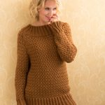 Aran Basket Stitch Sweater