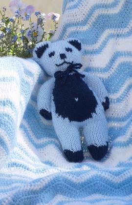 Baby Teddy Knitting Pattern Free