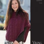 Camel Cabled Poncho Knitting Pattern Free