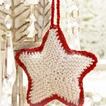 Christmas Star Christmas Tree Ornament Free Knitting Pattern