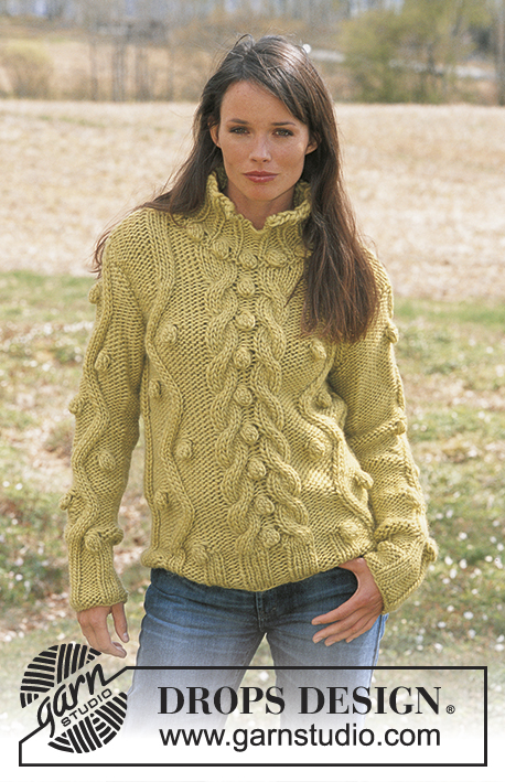Chunky Cable Sweater Free Knitting Pattern Knitting Bee