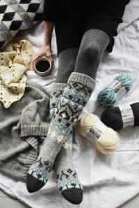 Colourwork Socks Free Knitting Pattern