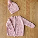 Cozy Kids Cardigan and Hat Set Free Knitting Pattern