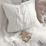 Cozy Weekend Pillow Free Knitting Pattern