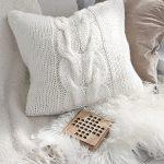 Cozy Weekend Pillow Free Knitting Pattern