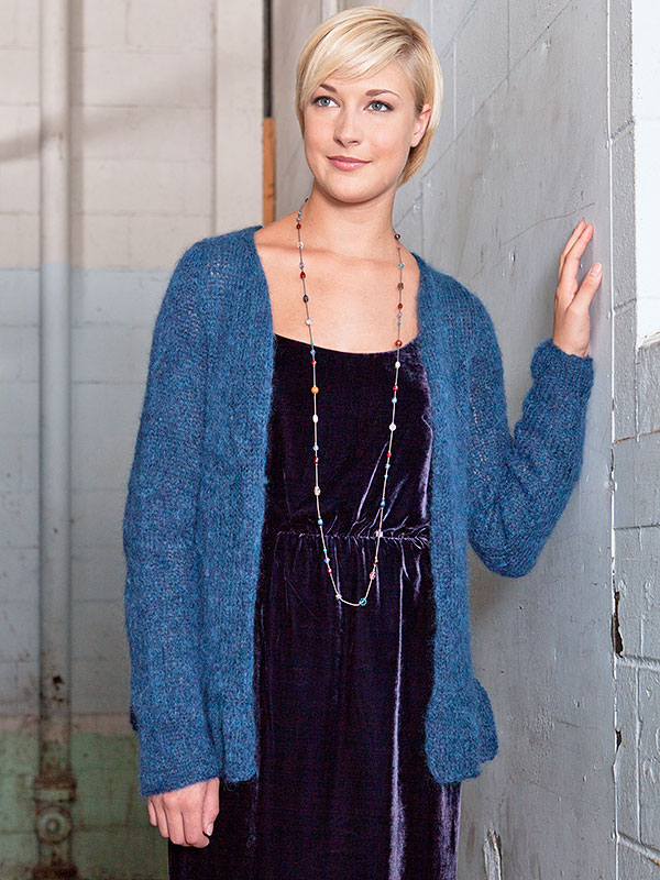Easy Cardigan Knitting Patterns Free