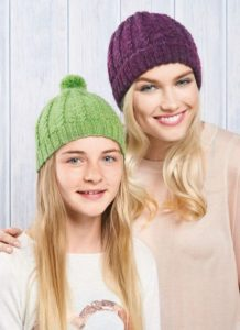 Easy Hats for Adults & Teens Free Knitting Pattern
