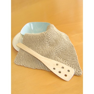 Easy Mitered Dishcloth Free Knitting Pattern